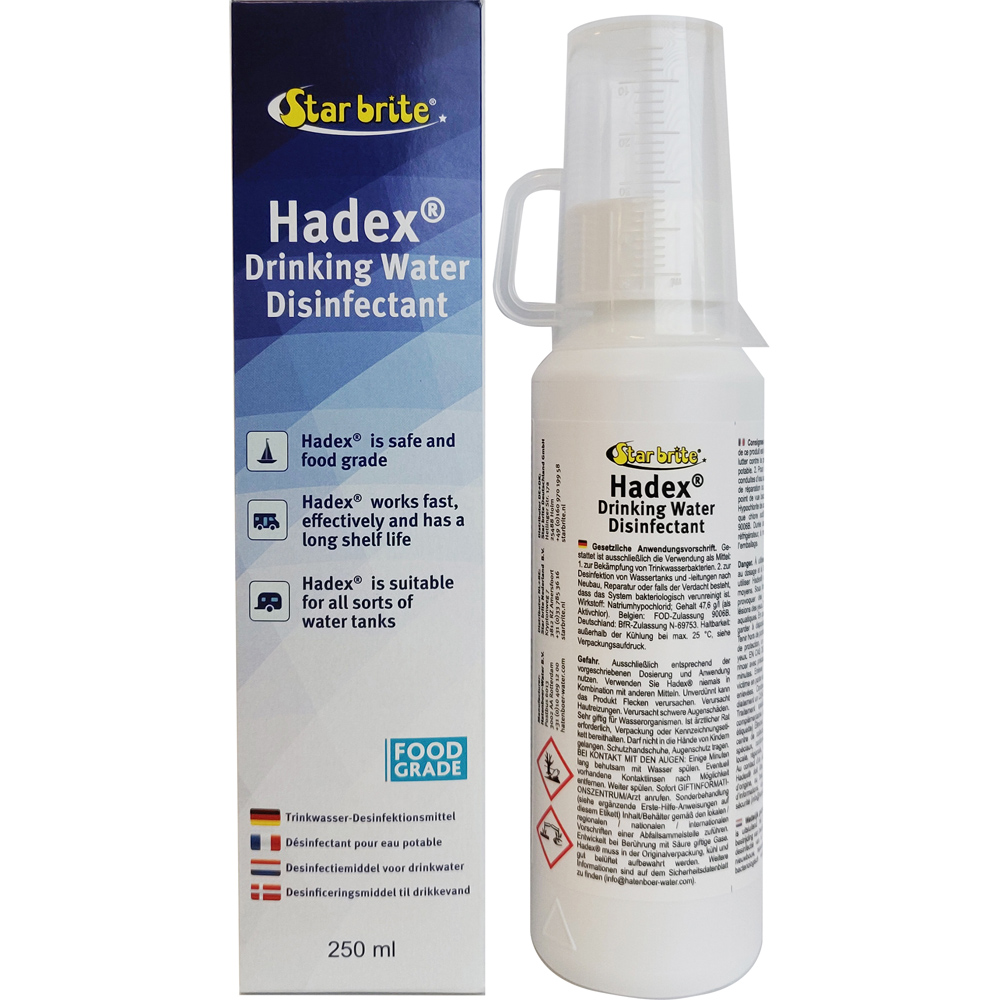 starbrite hadex drinkwater desinfectant 250 ml