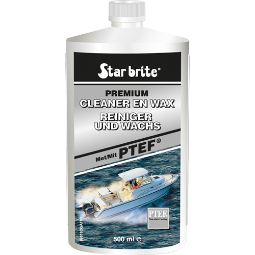 starbrite cleaner & wax met ptef 500 ml