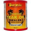 starbrite tropical teak oil sealer natural light 950 ml